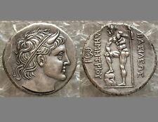 Souvenir Medal Paperweight Ancient Greek Roman King of Macedon Demetrius
