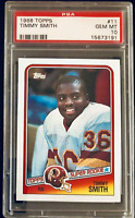 1988 Topps - Timmy Smith #11 Rookie PSA 10 - MINT - Great Investment!