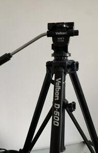 Tripod Velbon D600- Camera Camcorder Stand - Used