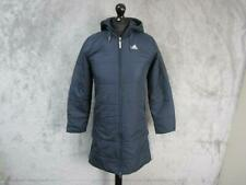 WOMENS ADIDAS FULL LENGTH HOODED BENCH COAT SIZE 6-8 / REF S0271