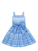 Nwot Kate Spade Girls Alice Blue Party Dress Size 7 8