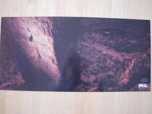 PETZL Rock Climbing POSTER Spencer McCrosky NEW