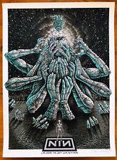 *Nine Inch Nails Las Vegas Nv 6/16/18 Ap Blue Variant Poster by Emek*S/N Xx/25*