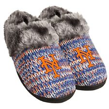 New York NY Mets Slippers Logo NEW Womens Slide House shoes! Peak Slide
