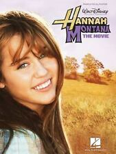 Hannah Montana - The Movie Sheet Music Book, Piano Vocal Guitar 18 songs 124 pgs