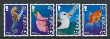 Gibraltar - 2001, Europa, Marine Life set - MNH - SG 968/71