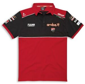 Ducati Corse SBK Superbike Team Replica Polo Shirt T-Shirt Davies Redding 2020