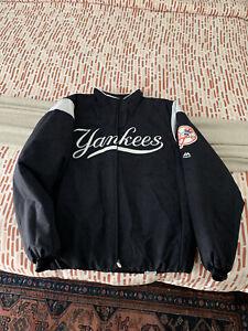 New York Yankees Baseball Majestic Authentic Jacket Therma Base Dugout Medium
