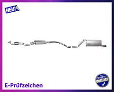 Auspuffanlage Opel Corsa D E 1.4 55/64/66/74KW Auspuff Endtopf Mitteltopf Chrom