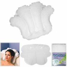 Deluxe Inflatable Bath Pillow Rest Neck Tub Cushion Spa Bathtub Luxury Relax New