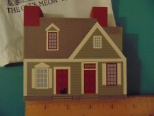 Fj Designs The Cat's Meow Village 1994 Collector Club Edition M. Dickinson Store