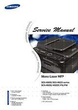 Samsung SCX-4600 SCX-4623 Series SCX-4600 SCX4623F/FN/FW - Service Manual PDF