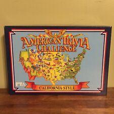 Vintage American Trivia Challenge California Style Edition Pepsi Apple Old Logo