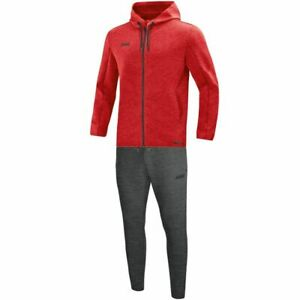 Jako Sport Casual Training Leisure Mens Tracksuit Top Hooded Jacket Bottoms Pant