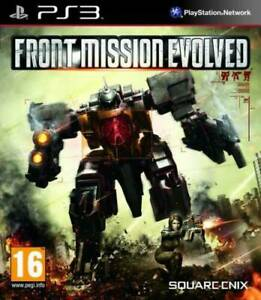 Front Mission Evolved PS3 - New and Sealed