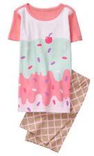 Gymboree Girls Nwt Spring Vacation Ice Cream Shortie summer Pjs Size 6