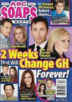 ABC Soaps In Depth Sept. 25 2017 James Patrick Stuart Maura West Kirsten Storms