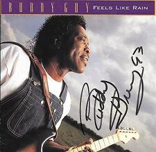 BUDDY GUY FEELS LIKE RAIN (CD)  SIGNED
