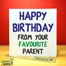 Happy Birthday Son Daughther Greetings Card Funny Rude Love Joke Present