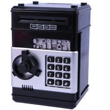 Electric Money Saving Bank Deposit Box Intelligent Voice Cash Coin Box Passcode