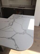 Calacatta White  Quartz Kitchen Worktop | All colours available | Affordabl