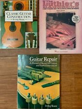 Guitar Luthier Books - Construction and Repair-by Irvine Sloan, Roger Siminoff