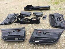 BMW E38 ((full leather)) dash console door knee panel glove box 750iL 740iL 740