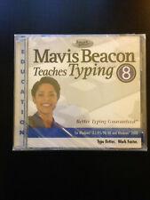 Mavis Beacon Teaches Typing 8 for Windows 3.1 95 98 ME 2000 NEW SEALED