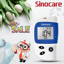 Kit de prueba de ayuda diabéticos Salud sinocare Glucómetro azúcar monitor de glucosa en sangre
