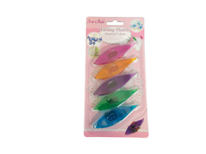 Sew Mate Tatting Shuttle - Transparent with Assorted Colours