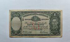 CrazieM World Bank Note - 1932-54 Australia 1 Pound - Collection Lot m076