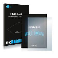 6x Displayschutzfolie Yamaha LCD Display (E-Bike Display) Schutzfolie Klar Folie