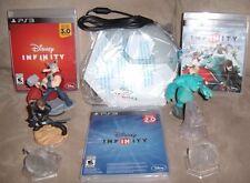 ULTIMATE DISNEY INFINITY 1.0 2.0 3.0 PS3 Playstation 3 Starter Pack Set Bundle