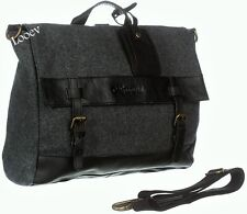 Borsa Tracolla Uomo Napapijri Bag Woman Men Elg Satchel Dark Grey Mel N5D01