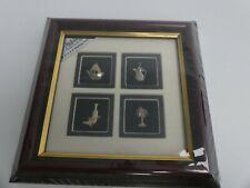 (ref288AC) Arabian silver collection framed 925 silver