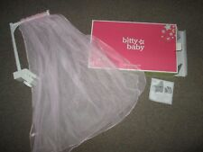 Authentic AMERICAN GIRL BITTY BABY  DOLL SWEET & SOFT CANOPY NEW crib bed