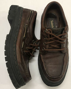Timberland Icon Classic Lug Boat Shoes Brown / Black Bottom Size 9 63063