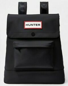 NWT Authentic HUNTER for Target Large Backpack in Black