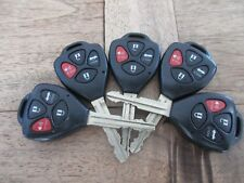 LOT OF 5 TOYOTA AVALON COROLLA KEYLESS 4 BUTTON  REMOTES GQ4-29T  G STAMP  OEM