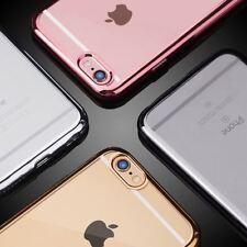 For iPhone 7 Wholesale Lot Transparent/Clear Soft TPU Case 10pcs Bulk USA Seller