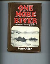 mac- One More River, The Rhine crossings of 1945, Allen 1st, HB/dj, VG