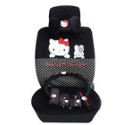 16 Pcs Hello Kitty Car Seat Cover Cute Interior Styling Accessories Choose Color