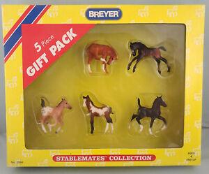 Breyer 5994 Stablemates 5 Piece Foals Set Model Horse - NIB