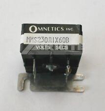 Omnetics - MMS230A1X60B - Time Delay Relay - 230 Volt, 60 Sec. 1 Amp - NOS