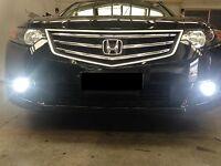 Super white 80w projector H11 LED globe/bulb for Honda Accord Euro fog lights
