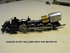 BRASS HO SCALE STEAM CAN MOTOR-FLYWHEEL UPGRADE KIT