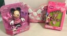 DISNEY MINNIE MOUSE BOWTIQUE BUNDLE STYLIN IN PINK PUZZLE JEWELRY NIP