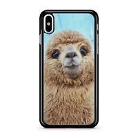 Alpaca Viso Carino Lama Peloso Adorabile Animali Custodia Cover Telefono