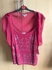 NEW WITHOUT TAGS SIZE 20 M&Co LADIES STRAPPY TOP AND BOLERO CARDIGAN SET
