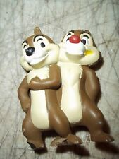 "Disney Chip N Dale 2-3/4"" Pvc Figure Cake Topper Doll Toy McD McDONALDS"